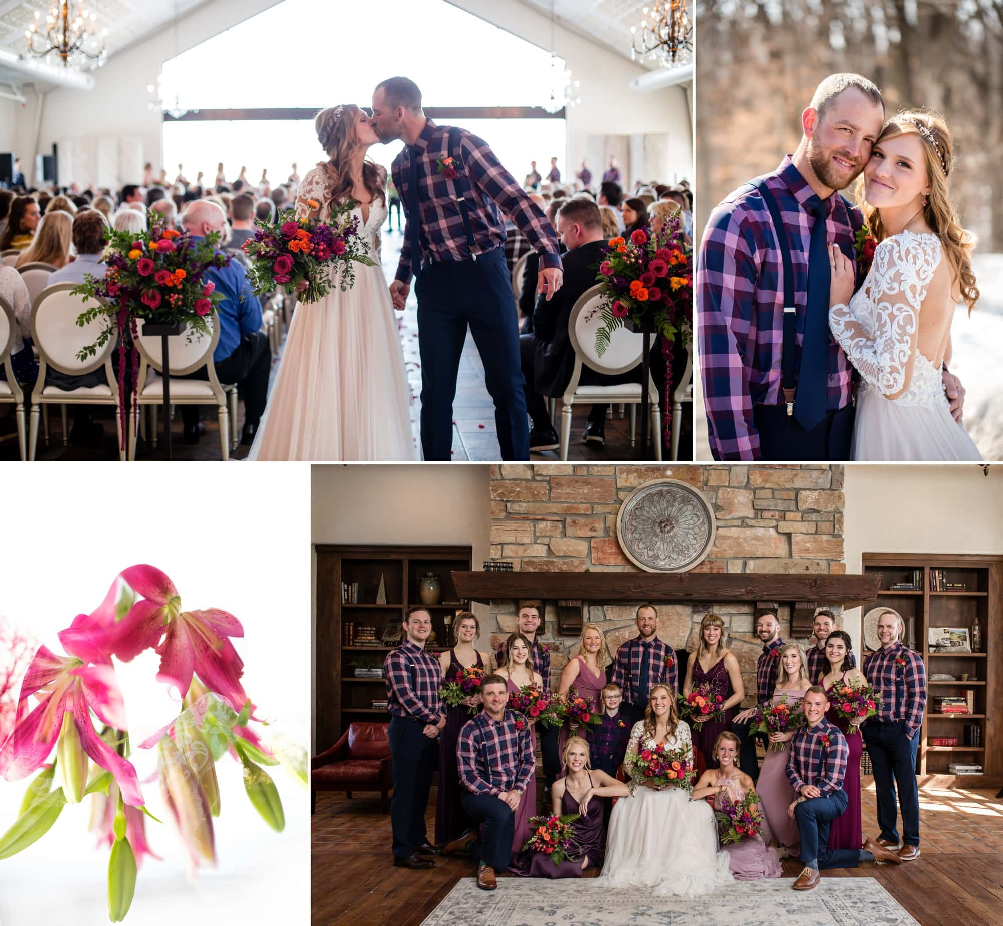 Gallery of wedding photography for Jessa and Baylor's wedding at Bavaria Downs.