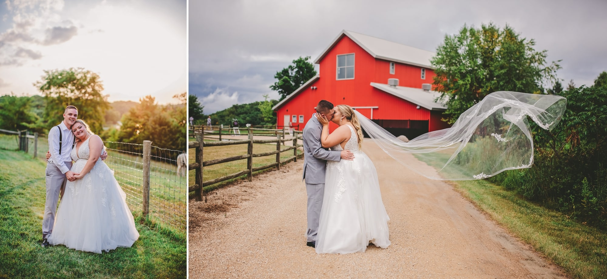 Bride and groom portraits at Gale Woods Farm in Minnetrista, Minnesota.