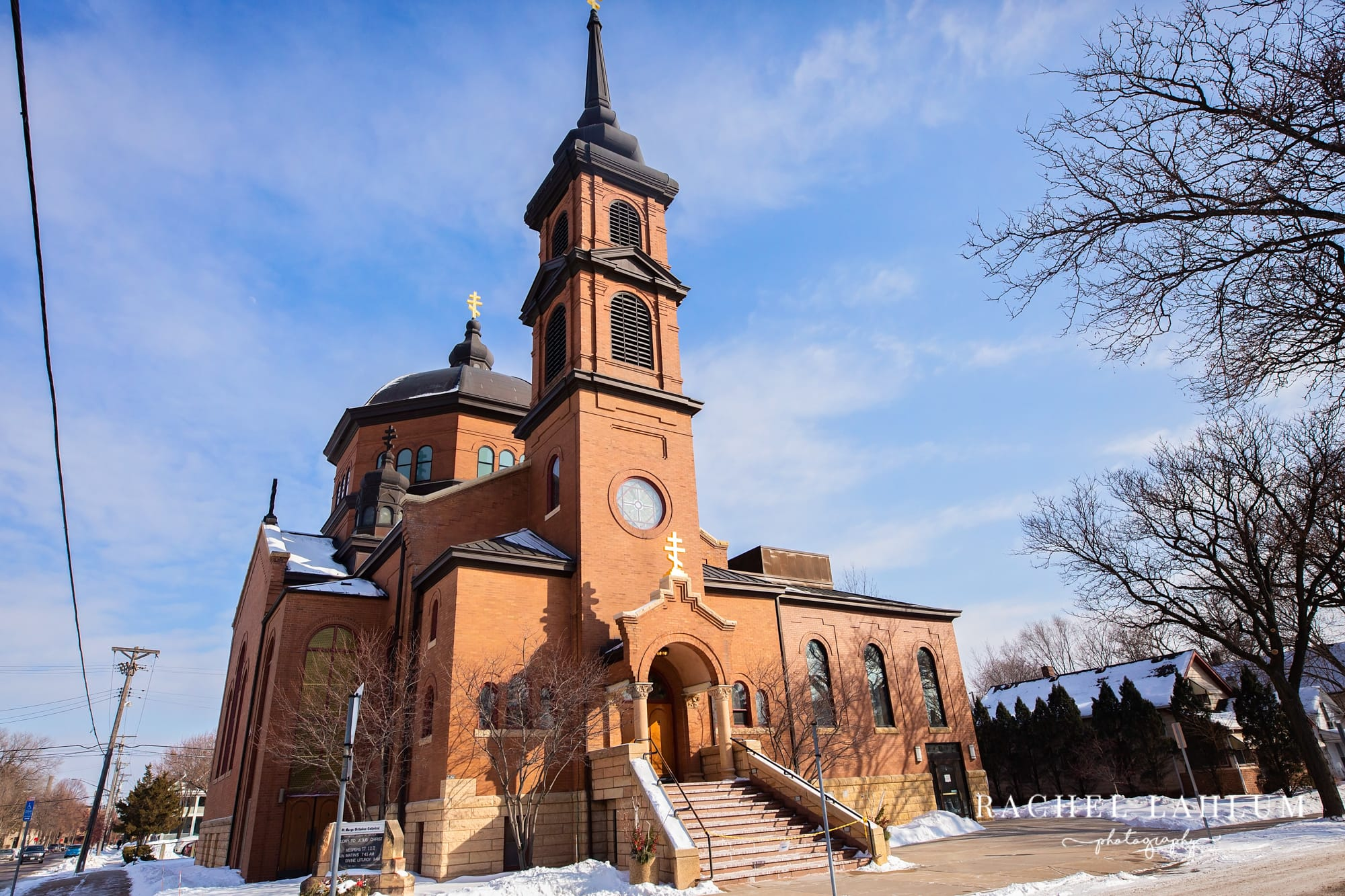 St. Mary's Orthodox Cathedral in Northeast Minneapolis.
