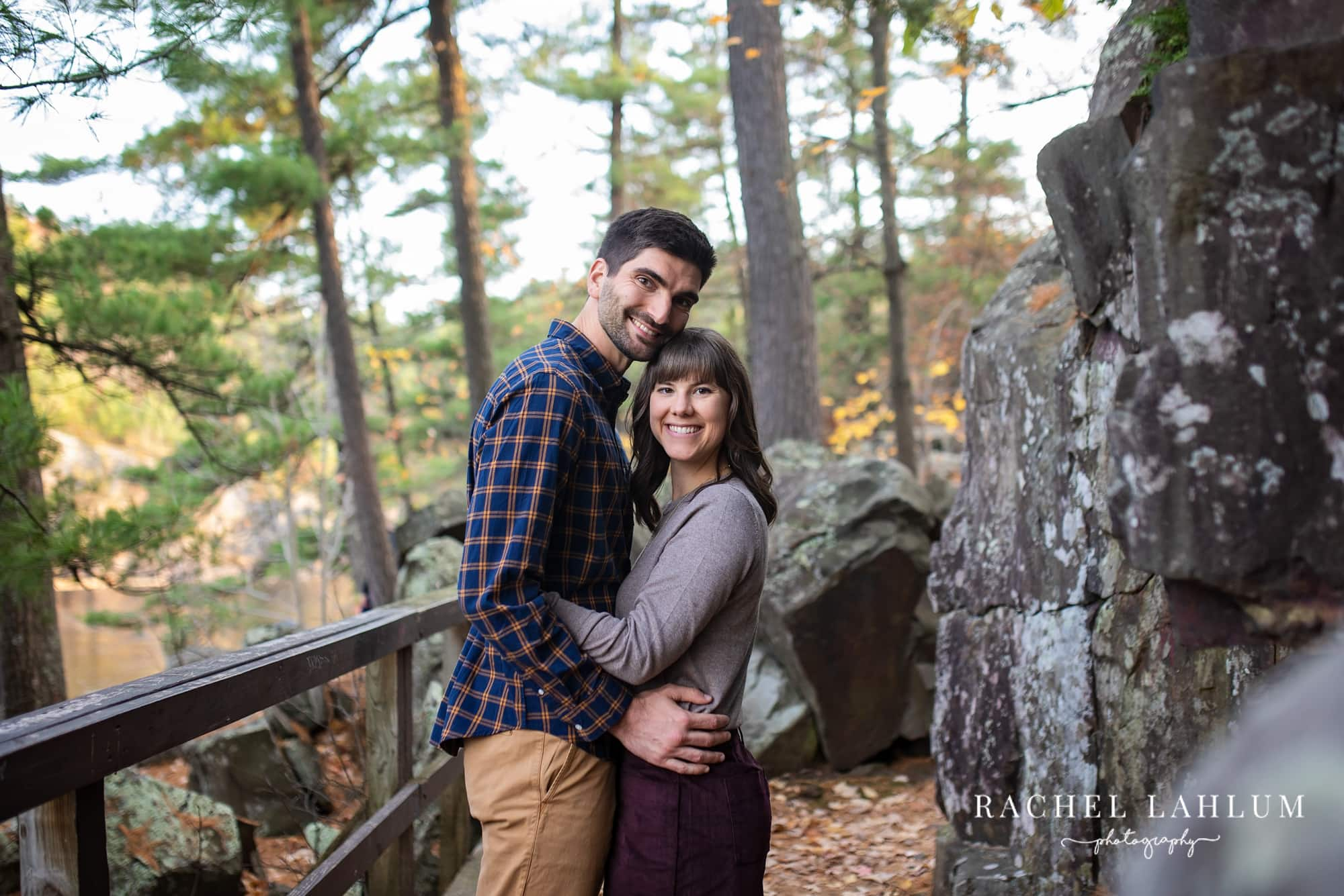 North Shore summer engagement session