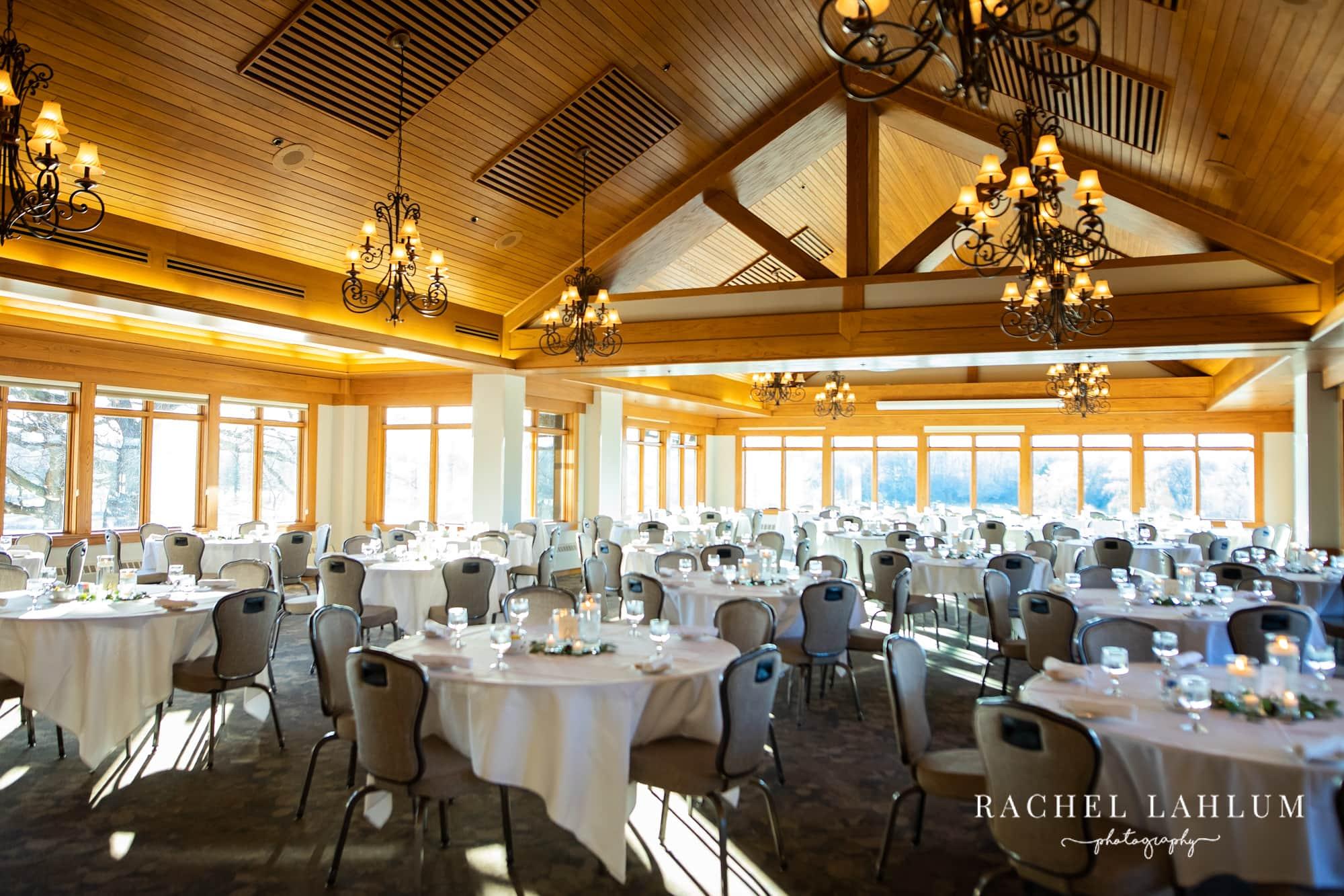 Medakota Country Club reception room in St. Paul, Minnesota.
