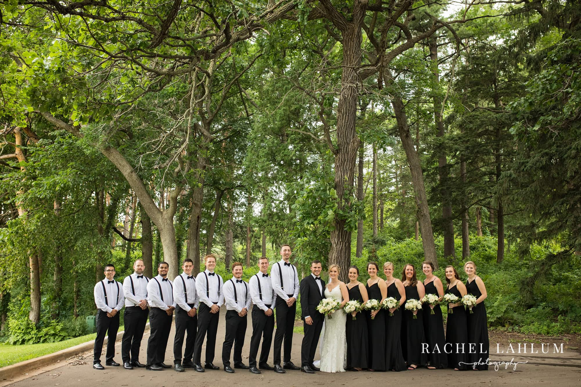 Bridal party at the Metropolitan Club and Ballroom in Golden Valley, MN.